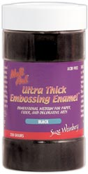 Melt Art Ultra Thick Embossing Enamel 8 Oz. Black