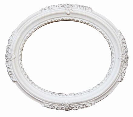 Vintage White Frame : Resin : Enchant Art